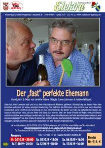 """PTG Elektra 1911 e.V. - Der """"fast"""" perfekte Ehemann @ Kulturhaus Spandau"""