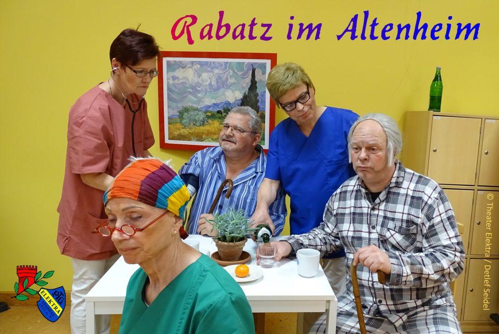 "PTG Elektra 1911 e.V. - ""Rabatz im Altenheim"" @ Kulturhaus Spandau"